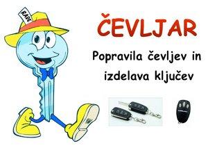 Locksmith and shoe repair shop logo | Šiška | Supernova